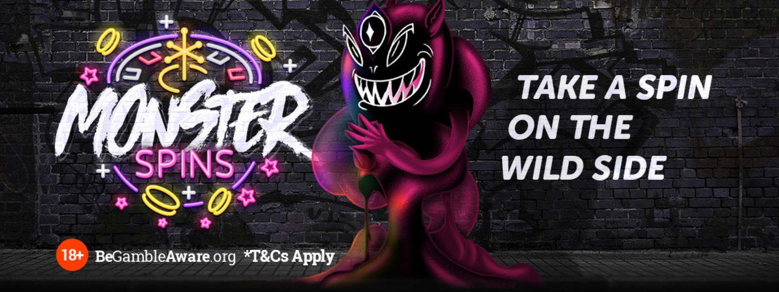 Wide big wp monster spins